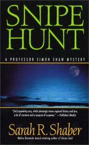 Snipe Hunt (A Simon Shaw Mystery) by Sarah R. Shaber