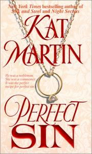 Cover of: Perfect sin | Kat Martin