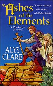 Cover of: Ashes of the Elements | Alys Clare
