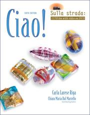 Cover of: Ciao! Video Update
