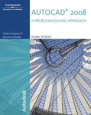 Cover of: AutoCAD 2008 | Sham Tickoo