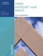 Cover of: Using AutoCAD 2008 Basics