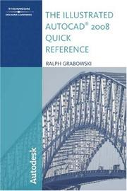 Cover of: The Illustrated AutoCAD 2008 Quick Reference (Illustrated AutoCAD Quick Reference)