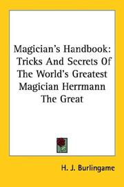 Cover of: Magician