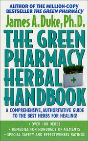 Cover of: The Green Pharmacy Herbal Handbook