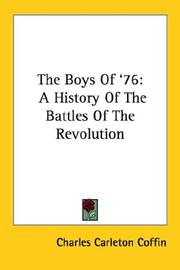 Cover of: The Boys Of