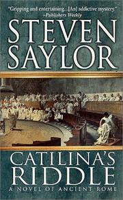 Cover of: Catilina's Riddle by Steven Saylor