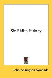 Cover of: Sir Philip Sidney