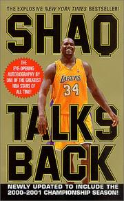 Shaq talks back by Shaquille O'Neal