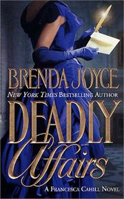 Cover of: Deadly affairs