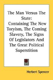 Cover of: The Man Versus the State