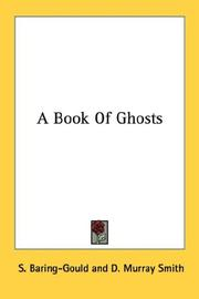 Cover of: A book of ghosts
