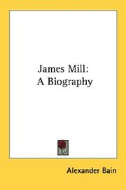 Cover of: James Mill