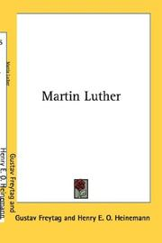 Martin Luther by Gustav Freytag