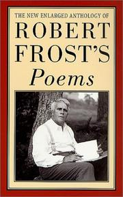 Cover of: Robert Frost's Poems