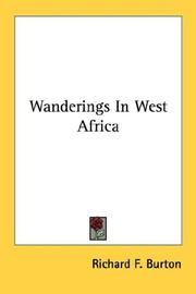Cover of: Wanderings In West Africa