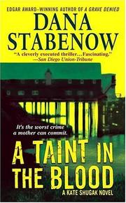 Cover of: A Taint in the Blood | Dana Stabenow
