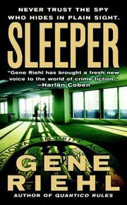 Cover of: Sleeper (Puller Monk Novels) | Gene Riehl