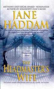 Cover of: The headmaster's wife