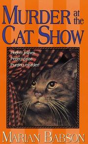 Cover of: Murder at the Cat Show