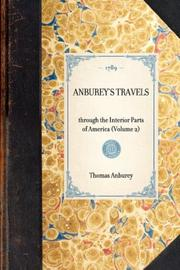 Cover of: Anburey's Travels | Thomas Anburey