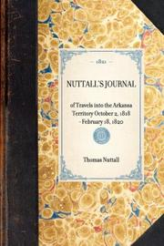 Cover of: Nuttall's Journal