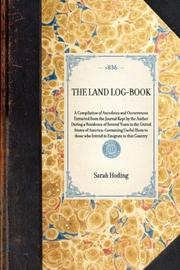 Cover of: The Land Log-Book | Sarah Hoding
