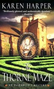 Cover of: The Thorne Maze (Elizabeth I Mysteries, Book 5)