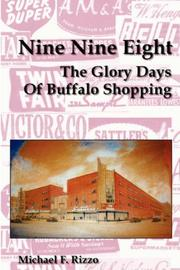 Cover of: Nine Nine Eight