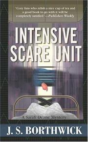 Cover of: Intensive Scare Unit (Sarah Deane Mysteries)