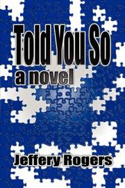 Cover of: Told You So