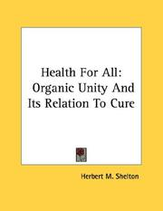 Health for All by Herbert M. Shelton