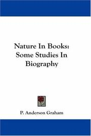 Cover of: Nature In Books | P. Anderson Graham