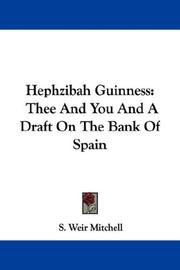 Cover of: Hephzibah Guinness | S. Weir Mitchell