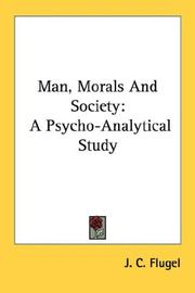 Cover of: Man, morals and society