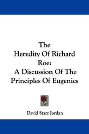 Cover of: The Heredity Of Richard Roe