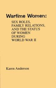 Cover of: Wartime women