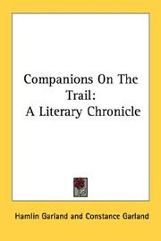 Cover of: Companions on the trail: a literary chronicle