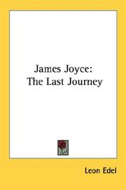 Cover of: James Joyce
