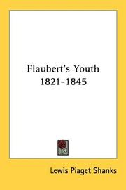 Cover of: Flaubert's Youth 1821-1845