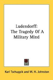 Cover of: Ludendorff