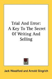 Trial and error by Jack Woodford