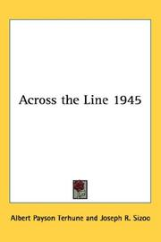 Cover of: Across the Line 1945