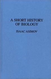 Cover of: A short history of biology