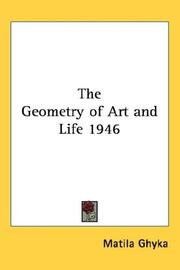 Cover of: The Geometry of Art and Life 1946