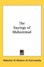 Cover of: The Sayings of Muhammad