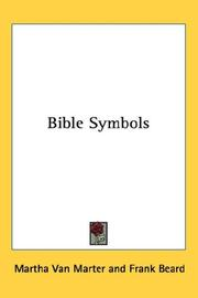 Cover of: Bible Symbols