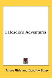 Cover of: Lafcadio's Adventures