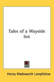 Cover of: Tales of a Wayside Inn | Henry Wadsworth Longfellow
