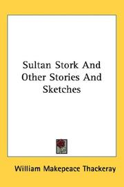 Cover of: Sultan Stork And Other Stories And Sketches